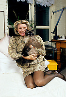 Exclusive file photo - circa 1987<br /> <br /> Mariette Levesque