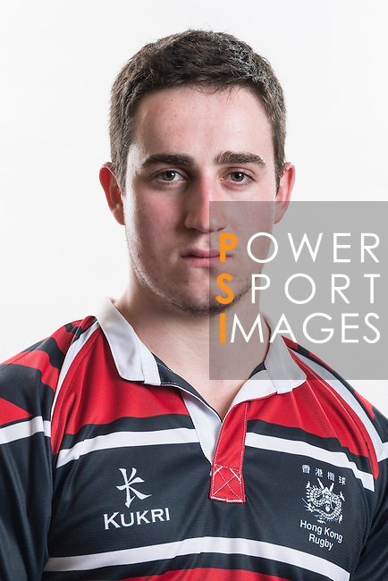 Hong Kong Junior Squad team member Joseph Dignan poses during the Official Photo Session Day at King's Park Sports Ground ahead the Junior World Rugby Tournament on 25 March 2014. Photo by Andy Jones / Power Sport Images