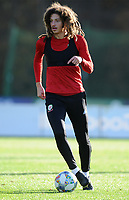 Ethan Ampadu of Wales during the Wales Training Session at The Vale Resort in Cardiff, Wales, UK. Monday 12 November 2018