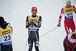 HOLMENKOLLEN, OSLO, NORWAY - March 16: (C) Bryan Fletcher of USA after the cross country 15 km (2 x 7.5 km) competition at the FIS Nordic Combined World Cup on March 16, 2013 in Oslo, Norway. (Photo by Dirk Markgraf)