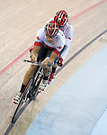 MILTON, ON, AUGUST 10, 2015. Cycling at the Velodrome. Gold medallists Daniel Chalifour & Alexandre Cloutier (BM).<br /> Photo: Dan Galbraith/Canadian Paralympic Committee