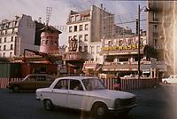 Paris , FRANCE -  1975 File Photo - Moulin Rouge