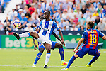 Mamadou Kone of Deportivo Leganes in action during their La Liga match between Deportivo Leganes and FC Barcelona at the Butarque Municipal Stadium on 17 September 2016 in Madrid, Spain. Photo by Diego Gonzalez Souto / Power Sport Images