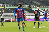 2nd February 2021; St James Park, Newcastle, Tyne and Wear, England; English Premier League Football, Newcastle United versus Crystal Palace; Jairo Riedewald of Crystal Palace celebrates after scoring Crystal Palace 1st goal for 1-1 in the 21st minute