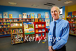 Tommy O'Connor, manager of the Tralee Library on Tuesday.