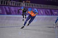 OLYMPIC GAMES: PYEONGCHANG: 24-02-2018, Gangneung Oval, Long Track, Mass Start Men, Sven Kramer (NED), ©photo Martin de Jong