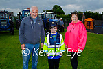 Attending the Ardfert Vintage Tractor run fundraiser for Kerry Cork Cancer Support Group in Ardfert on Sunday, l to r: John, Sean and Tracy Kearney.