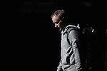 USA's John McEnroe walks onto the court before the HSBC Tennis Cup series at First Niagara Center in Buffalo, NY on October 22, 2011