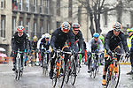 The pelethon including Taylor Phinney (USA) BMC Racing Team pass through Pavia during the 104th edition of the Milan-San Remo cycle race, 17th March 2013 (Photo by Eoin Clarke 2013)