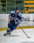 30 November 2018: University of Maine Black Bear Forward Vendula Pribylová, a Junior from Olomouc, Czech Republic, in second period action against the University of Vermont Catamounts at Gutterson Fieldhouse in Burlington, Vermont. The Lady Bears defeated the Lady Cats 2-1 in the first game of their 2-game Hockey East series. Mandatory Credit: Ed Wolfstein Photo *** RAW (NEF) Image File Available ***