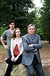 May 4, 2009. Raleigh, NC.. Actress Evan Rachel Wood on and around the set of her brother, Ira David Wood IV's, production of Romeo and Juliet for Theater in the Park.. Ira David Wood IV, Evan Rachel Wood and Ira David Wood III.