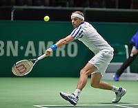 Februari 09, 2015, Netherlands, Rotterdam, Ahoy, ABN AMRO World Tennis Tournament,  Gilles Muller (LUX)<br /> Photo: Tennisimages/Henk Koster