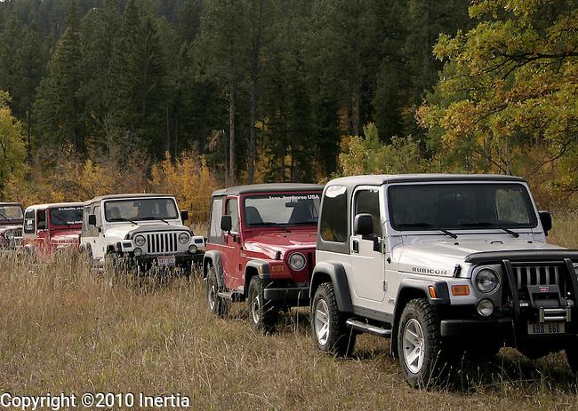DEADWOOD, SD - 2004 Jeep Jamboree USA event near Deadwood, S.D.  (Photo by Richard Carlson)