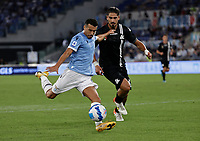 28th August 2021; Olympic Stadium, Rome, Italy; Serie A football, SS Lazio versus AC Spezia : Pedro Ledesma of Lazio shoots at goal