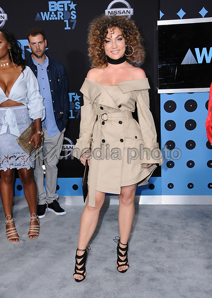 25 June 2017 - Los Angeles, California - Jude Demorest. 2017 BET Awards held at the Microsoft Square in Los Angeles. Photo Credit: Birdie Thompson/AdMedia