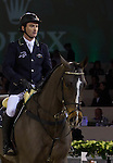 Desapointment of Denis Lynch, on Abbervail Avn Het Dingshof, after finishing the secod round