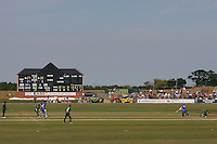 General view of play showing the new scoreboard at Garon Park - Essex Eagles vs Nottinghamshire Outlaws - Nat West Pro 40 Cricket at Garon Park, Southend-on-Sea, Essex -  09/08/09 - MANDATORY CREDIT: Gavin Ellis/TGSPHOTO - Self billing applies where appropriate - Tel: 0845 094 6026