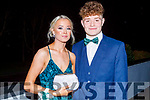 Ava Peevers and Jordan Kissane attending the CBS the Green Debs in the Ballyroe Heights Hotel on Monday night.