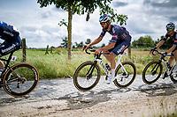Guillaume Van Keirsbulck (BEL/Alpecin-Fenix)<br /> <br /> Grote Prijs Marcel Kint 2021<br /> One day race from Zwevegem to Kortrijk (196km)<br /> <br /> ©kramon