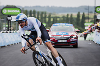 European Champion TT Stefan Küng (SUI/Groupama-FDJ)<br /> <br /> Stage 5 (ITT): Time Trial from Changé to Laval Espace Mayenne (27.2km)<br /> 108th Tour de France 2021 (2.UWT)<br /> <br /> ©kramon