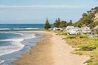 Pourerere settlement, Hawke's Bay, East Coast, North Island, New Zealand, NZ