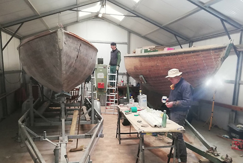 """""""Lockdown Labour of Love"""" – Glenluce and Glencree being restored in Dun Laoghaire"""