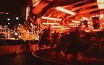 Christmas Carousel at Westlake plaza in Seattle, Washington.