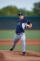 AZL Padres 2 starting pitcher Keegan Collett (49) during an Arizona League game against the AZL White Sox on June 29, 2019 at Camelback Ranch in Glendale, Arizona. The AZL Padres 2 defeated the AZL White Sox 7-3. (Zachary Lucy/Four Seam Images)