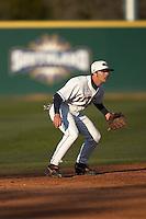 SAN ANTONIO, TX - FEBRUARY 16, 2007: The University of Louisiana at Lafayette Ragin Cajuns vs. The University of Texas at San Antonio Roadrunners Baseball at Roadrunner Field. (Photo by Jeff Huehn)