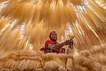 Noodle making by Abdul Momin