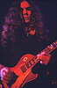 """Gary Rossington guitarist with Lynyrd Skynrd, Dome Brighton 1974.<br /> <br /> Lynyrd Skynyrd is an American rock band best known for popularising the southern hard-rock genre during the 1970s.<br /> <br /> The band rose to worldwide recognition on the basis of its driving live performances and signature tunes """"Sweet Home Alabama"""" and """"Free Bird"""". At the peak of their success, three members died in an airplane crash in 1977, putting an abrupt end to the band's most popular incarnation.<br /> <br /> Stock Photo by Paddy Bergin"""