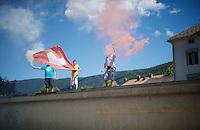 The Tour entering Switzerland<br /> <br /> stage 16: Morain-en-Montagne to Bern (SUI) / 209km<br /> 103rd Tour de France 2016