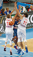 Tony Parker of France in action during European basketball championship Eurobasket 2013, round 2, group E  basketball game between Serbia and France in Stozice Arena in Ljubljana, Slovenia, on September 15. 2013. (credit: Pedja Milosavljevic  / thepedja@gmail.com / +381641260959)