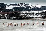 261210 Boxing Day swim Langland Bay