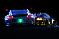Night Action, Petit Le Mans , Road Atlanta, Braselton, GA, October 2014.   (Photo by Brian Cleary/www.bcpix.com)