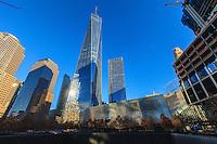 America,New York,  Manhattan,Ground Zero Memorial and Museum, Liberty Tower