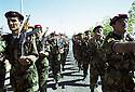 Irak 2002.Formation militaire à Diana.Iraq 2002.Military training in Diana