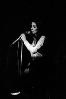 Marie Laforet<br /> lors d'un spectacle presente par Radio Canada,a Montreal.<br /> Date inconnnue entre 1967 et 1974