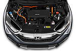 Car Stock 2020 Honda CR-V-Hybrid Executive-4wd 5 Door SUV Engine  high angle detail view