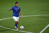 Football: Uefa Nations League Group A match Italy vs Netherlands at Gewiss stadium in Bergamo, on October 14, 2020.<br /> Italy's Lorenzo Pellegrini in action during the Uefa Nations League match between Italy and Netherlands at Gewiss stadium in Bergamo, on October 14, 2020. <br /> UPDATE IMAGES PRESS/Isabella Bonotto