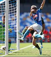 Dries Mertens of Napoli in action<br /> Napoli 29-9-2019 Stadio San Paolo <br /> Football Serie A 2019/2020 <br /> SSC Napoli - Brescia FC<br /> Photo Cesare Purini / Insidefoto