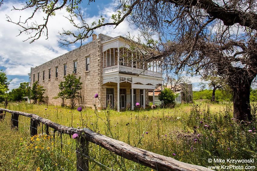 Old Hotel, Morris Ranch, TX