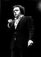 July 1984 File Photo - Jacques Villeret perform at Juste Pour Rire festival