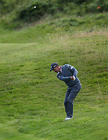 180719 | The 148th Open - Day 1<br /> <br /> Padraig Harrington of Ireland on the 12th during the 148th Open Championship at Royal Portrush Golf Club, County Antrim, Northern Ireland. Photo by John Dickson - DICKSONDIGITAL
