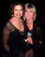 Bianca Jagger Olivia Newton John 1998<br /> Photo By John Barrett/PHOTOlink