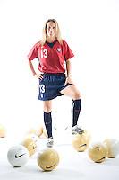 Kristine Lilly, USWNT Portraits, Carson, California, 2006.