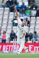 Kyle Jamieson, New Zealand in bowling action during India vs New Zealand, ICC World Test Championship Final Cricket at The Hampshire Bowl on 22nd June 2021