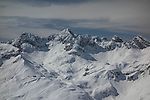 Top of Zurs Ski Area from Lech, St Anton, Austria