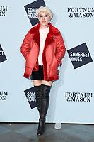 Daisy Lewis<br /> arriving for the Skate at Somerset House 2017 opening, London<br /> <br /> <br /> ©Ash Knotek  D3351  14/11/2017