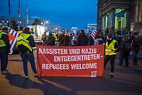 Kundgebung der Vereinigung der Verfolgten des Naziregimes/Bund der Antifaschisten am Mittwoch den 21. Oktober 2020 vor dem Berliner Abgeordnetenhaus. Die VVN/BdA protestiert gegen den Entzug der Gemeinnuetzigkeit durch die Berliner Finanzbehoerden aufgrund einer Erwaehnung im bayerischen Verfassungsschutzbericht. Fuer den bayerischen Verfassungsschutz ist die Organisation, die von Ueberlebenden des Naziregimes gegruendet wurde, eine linksextreme Organisation.<br /> 21.10.2020, Berlin<br /> Copyright: Christian-Ditsch.de